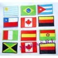 Aplicaciones  Banderas Bordadas